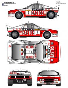 Lancia 037 Snijers Race 1986