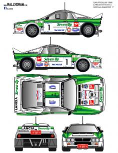 Lancia 037 Servia San Froilan 1986