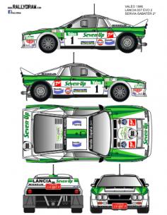 Lancia 037 San Froilan Valeo 1986