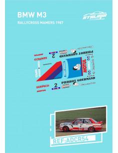 BMW M3 Rallycross Mamers 1987