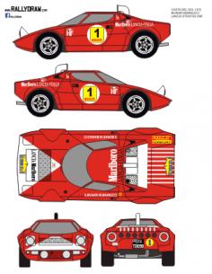 Lancia Stratos (restyled) Munari Costa del Sol 1972