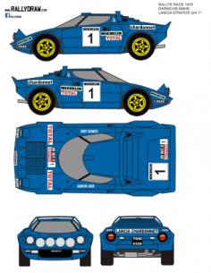 Lancia Stratos Darniche Race 1976