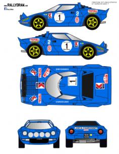 Lancia Stratos Darniche Firestone 1977