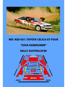 Toyota Celica GT-Four Kankkunen Australia 1989