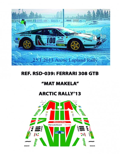 Ferrari 308 GTB Makela Arctic 2013