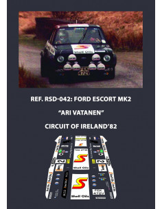 Ford Escort MK2 Vatanen Circuit of Ireland 1982