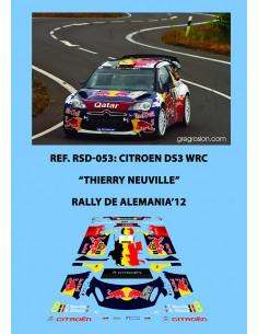 Citroen DS3 WRC Neuville Alemania 2012
