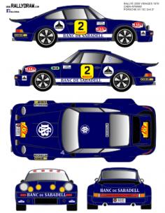 Porsche 911 Caba 2000 Virajes 1978