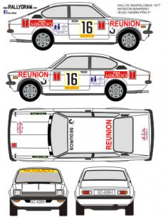 Isuzu Gemini Monzon Maspalomas 1977