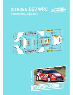 Citroen DS3 WRC Novikov Catalunya 2012