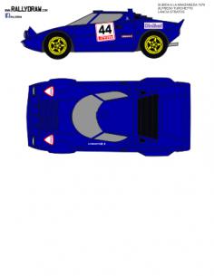 Lancia Stratos Turchetto Manzaneda 1978
