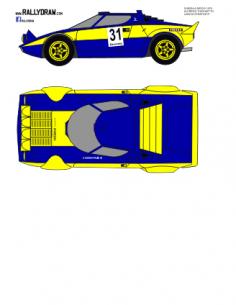 Lancia Stratos Turchetto Riego de Ambroz 1978