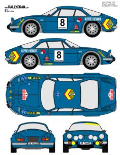 Renault Apine a110 Pavon Firestone 1972