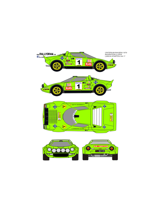 Lancia Stratos Bagration Baviera 1979