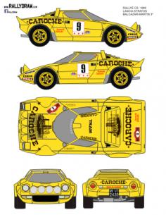 Lancia Stratos Balcazar CS 1980