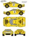 Lancia Stratos Balcazar Fallas 1980