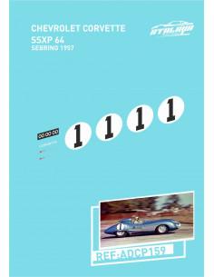 Chevrolet Corvette SSXP64 Sebring 1957