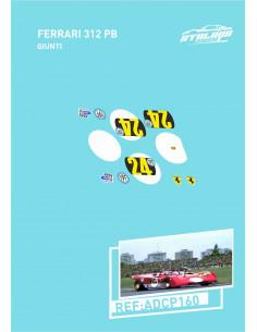 Ferrari 312 PB Giunti