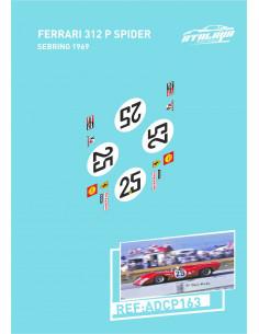 Ferrari 312 P Spider Sebring 1969
