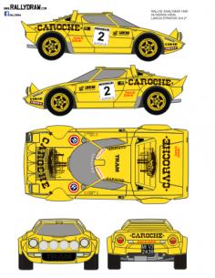 Lancia Stratos Oliveras Shalymar 1980
