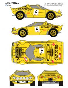 Lancia Stratos Balcazar Cs 1981