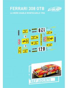 Ferrari 308 GTB La Mere Diable MonteCarlo 1983