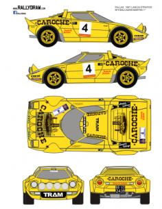 Lancia Stratos Balcazar Fallas 1981