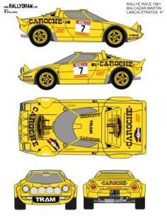 Lancia Stratos Balcazar Race 1981