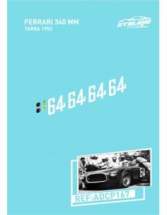 Ferrari 340 MM Targa 1952