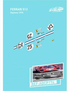 Ferrari 512 Daytona 1970