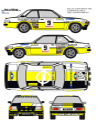 Opel Ascona Clarr Costa Brava 1980