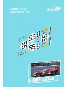 Ferrari 512 Nurburgring 1970