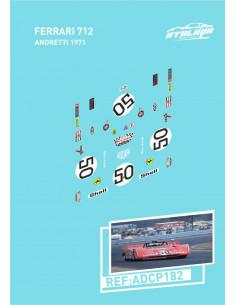 Ferrari 712 Andretti 1971