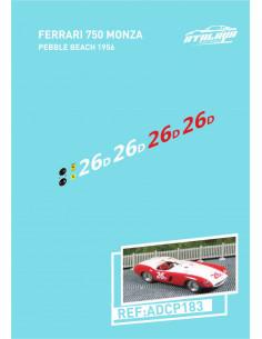 Ferrari 750 Monza Pebble Beach 1956