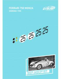 Ferrari 750 Monza Sebring 1955