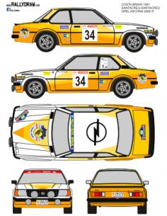 Opel Ascona Santacreu Costa Brava 1981