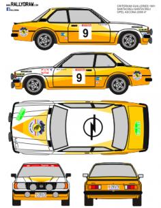 Opel Ascona Santacreu Guilleries 1981