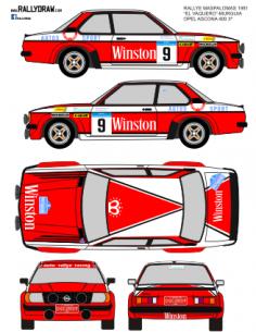 Opel Ascona Rodriguez Maspalomas 1981
