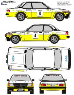 Opel Ascona Lacasa Sachs 1981