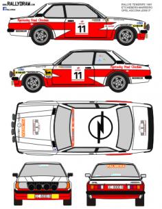 Opel Ascona Etchebers Tenerife 1981