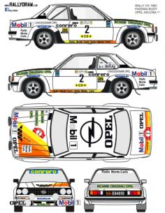 Opel Ascona Fassina CS 1982