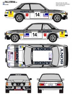 Opel Ascona Santacreu Fallas1982