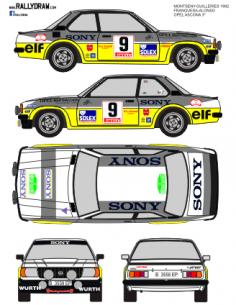 Opel Ascona Franquesa Guilleries 1982