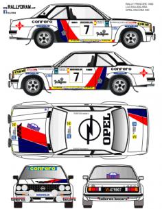 Opel Ascona Lacasa Principe 1982
