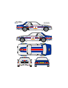 Opel Ascona McRae Race 1982