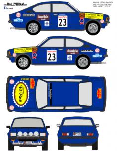 Opel Kadett GTE Sallent Catalunya 1978