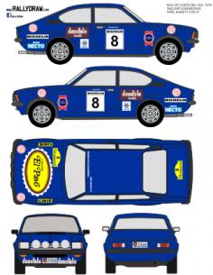 Opel Kadett GTE Sallent Costa del Sol 1978