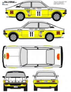 Opel Kadett GTE Candela Catalunya 1979