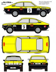 Opel Kadett GTE Lacasa Catalunya 1979