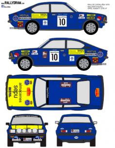 Opel Kadett GTE Sallent Catalunya 1979